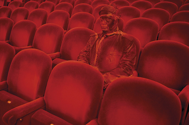 Movie Theater, Liu Bolin