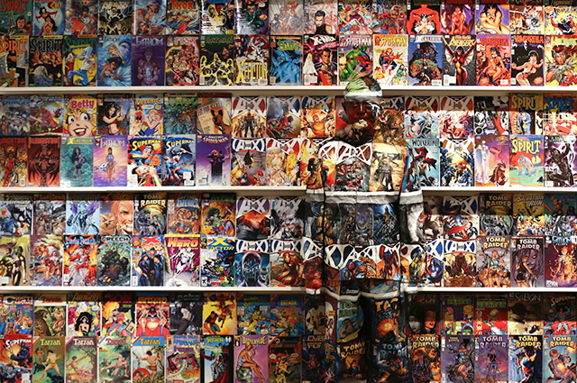 Cartoon Favorites, Liu Bolin