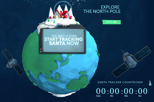 norad lets you see just when santa is flying over japan