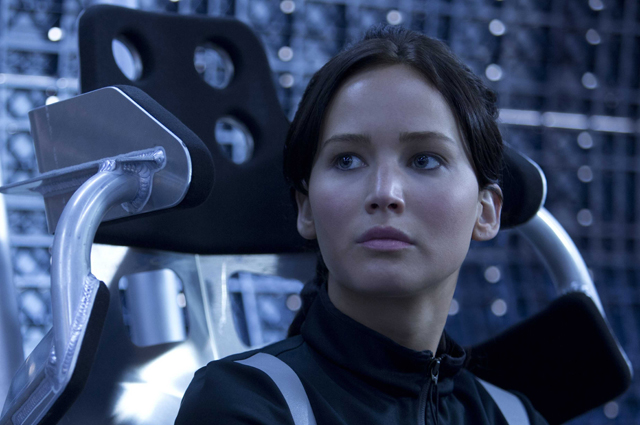 "Jennifer Lawrence in ""The Hunger Games: Catching Fire"""