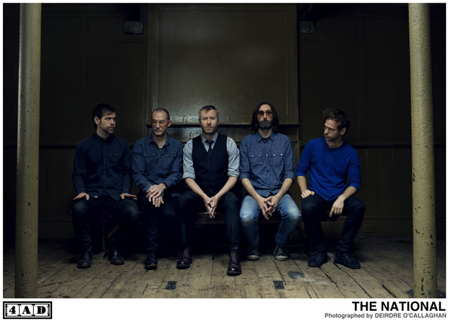 The National may seem mild mannered on wax, but they can be far wilder in person.