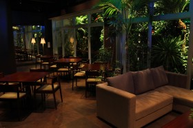 The dining area at Paraiso