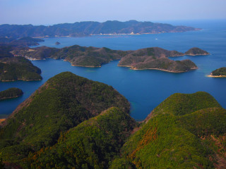Sea kayak excursions let you explore some of the smaller islands that make up Tsushima