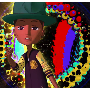 Pharrell-teams-up-with-Murakami