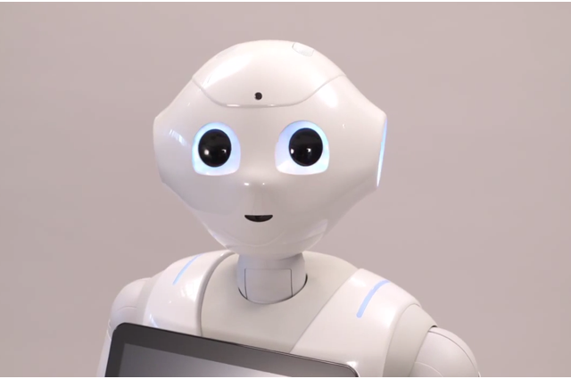 maxim first robot real emotions