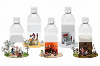 miniature-in-plastic-bottle