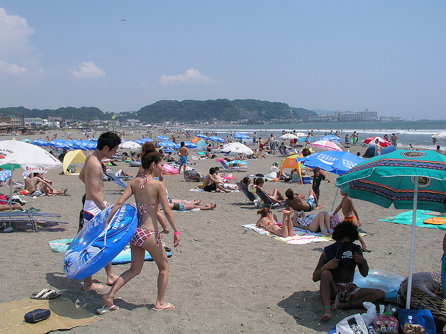 Japanese beaches