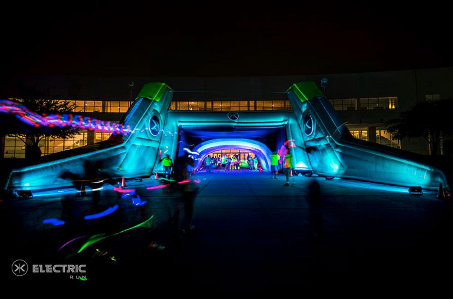 Not an easy landmark to miss on your run... (Photo courtesy of electricrun