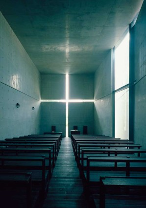 Ando's Church of the Light in Osaka (Photo © Mitsuo Matsuoka)