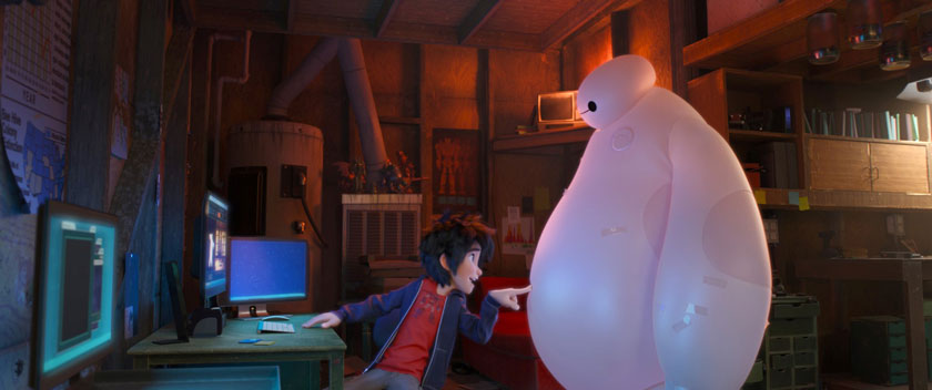 Big Hero 6 (©2014 Disney. All Rights Reserved.)