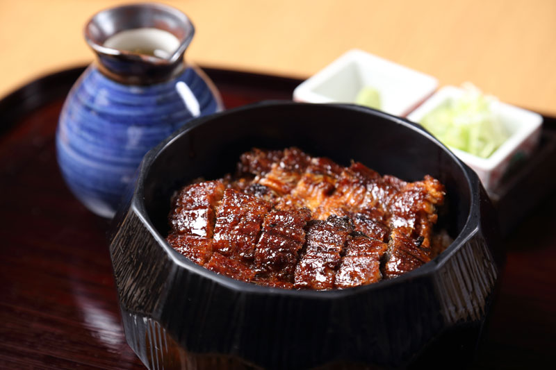 Eel, grilled to perfection