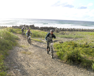 Mt-Chokai-mountain-bike-race