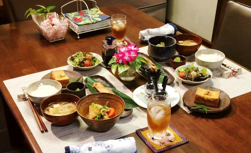 One of the many other tour options available features a home cooked traditional Japanese meal