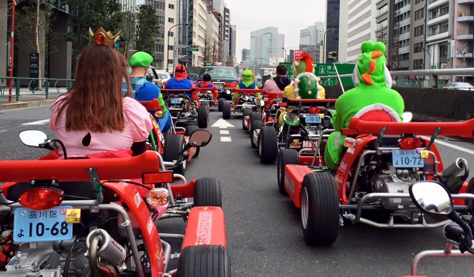 Race Through the Streets of Tokyo in Classic Mario Kart Style ...