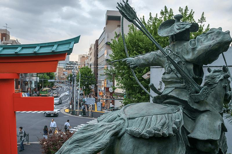 Anahachimangu-Waseda