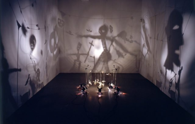 Theater of Shadows, 1984. Photo: André Morain Courtesy the artist and Marian Goodman Gallery