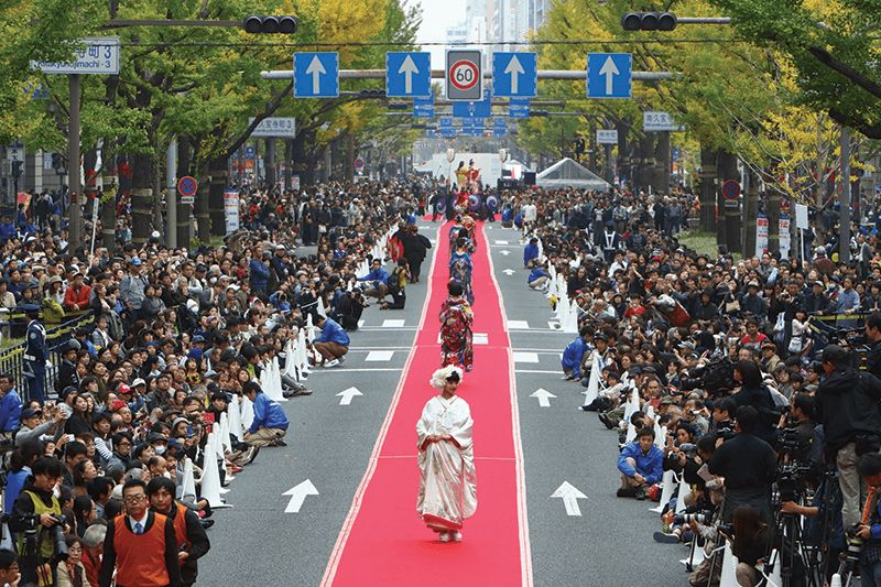 midosuji-runway-fashion-show