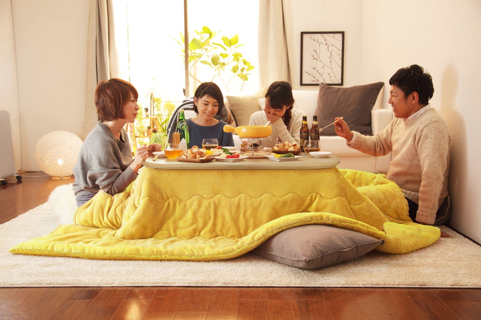 Kotatsu Dining For Winter At Restaurants On A Train And