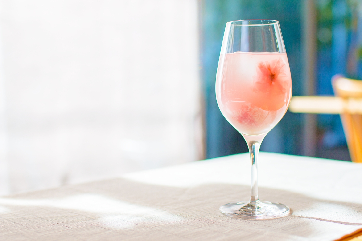 Get a head start on cherry blossom season at this exhibition for White wine based cocktails