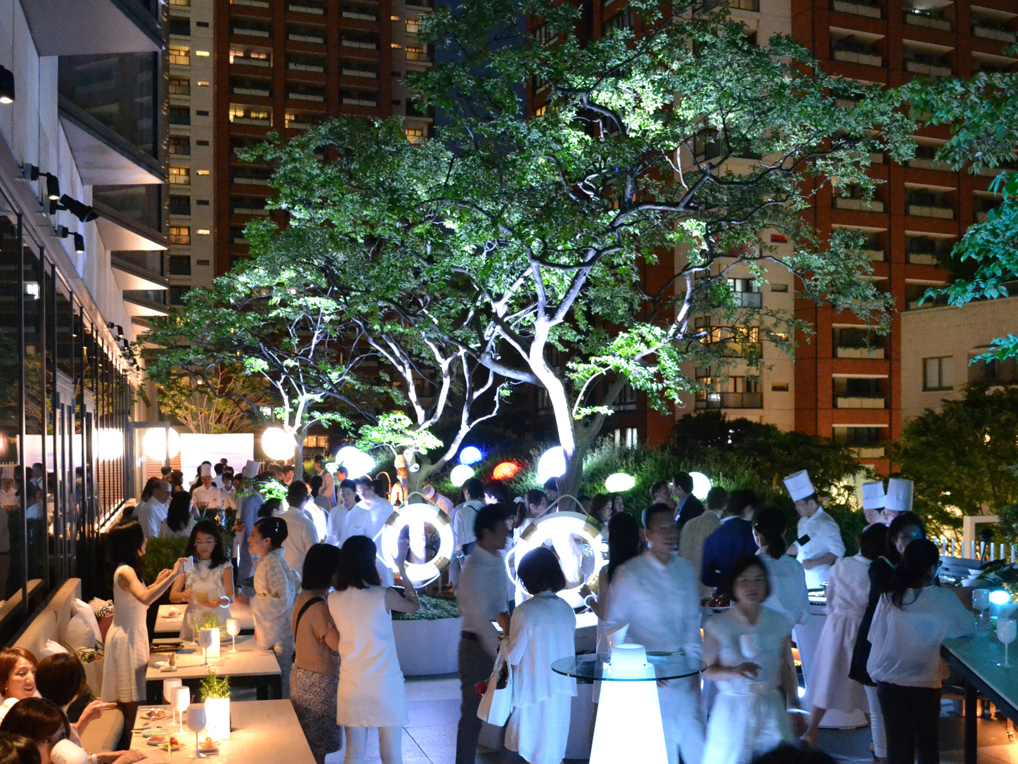 Grand Hyatt summer soiree