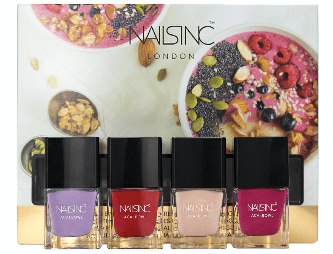 Mood Enhancing Colors nail polish with benefits: infused with superfoods and mood