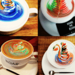 I Roar, You Roar, We All Roar for a Rainbow Latte