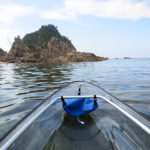 Explore the Tottori Coast in a Transparent Canoe