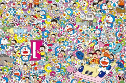 doraemon painting by Takashi Murakami