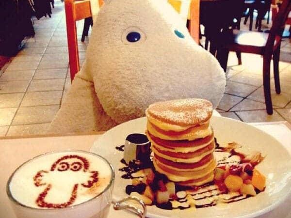 Moomin Cafe Tokyo Pancakes