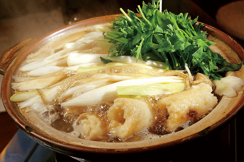 a hot pot filled with kiritanpo nabe an akita specialty
