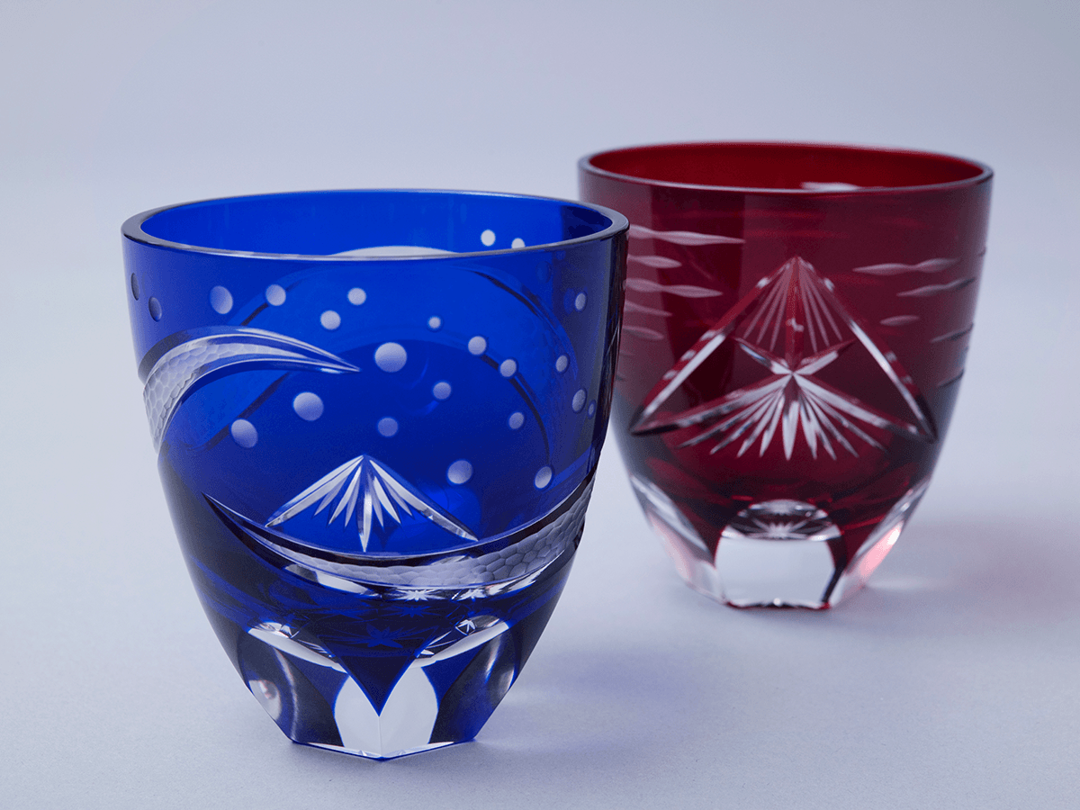 kiriko japanese traditional cut glass