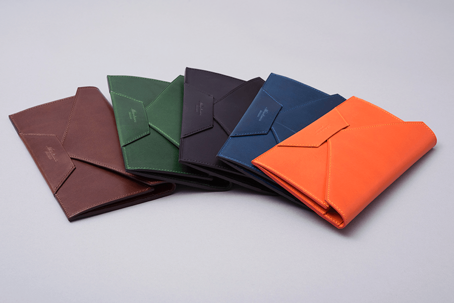 multicolored long wallets