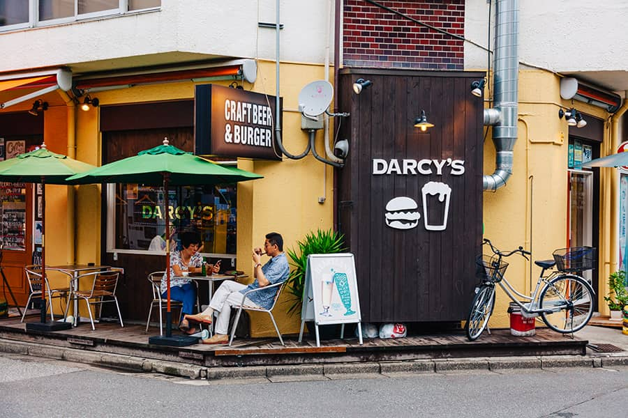 darcy's beer and burger ikebukuro