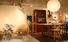 Kurashi no katachi store at living design center ozone