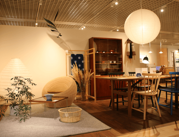 Kurashi no katachi store at living design center ozone