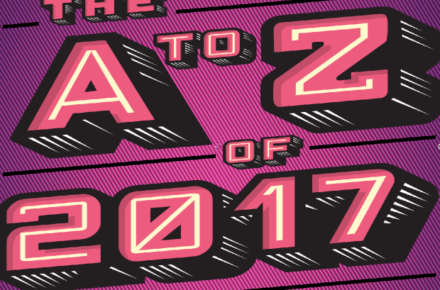 A to Z of 2017