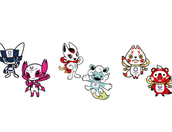 the shortlist of mascots for the Tokyo 2020 Olympics