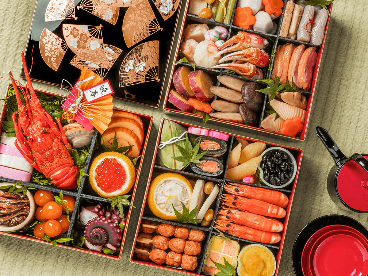 Meaning of Osechi Ryori, Japan's Traditional New Year Food ... Japanese Food