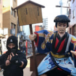 Panasonic Combines Ninja and the Latest Tech at Asakusa Event