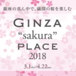 Ginza Place Transforms Into a Cherry Blossom Viewing Spot