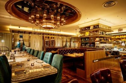 lubina spanish restaurant decor tokyo weekender