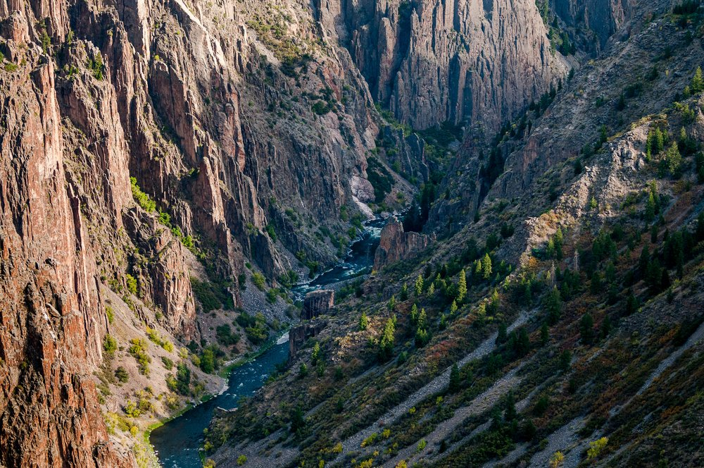 Black Canyon River Trail in Colorado
