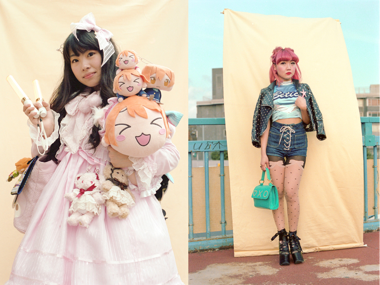 Many Japanese women s kawaii aspirations have long been dictated by popular  culture and the media in a male-dominated society. Are those pastel colors 110d4690a