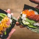 Try Healthy Cauliflower Rice Sushi at Gonpachi Harajuku