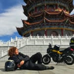 Rosaria Iazetta: Meet the Intrepid Woman Who Motorbiked Solo from Italy to Japan