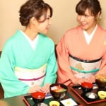 Wear a Kimono While Enjoying a Seafood Course in Kanagawa