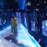 Sumida Aquarium Features Snow and Jellyfish Exhibition