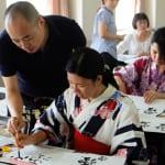 Udoyoshi Japanese Calligraphy Class