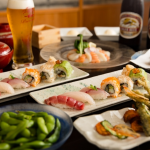 """SUSHI×BEER GARDEN"" Is A Match Made In Heaven"