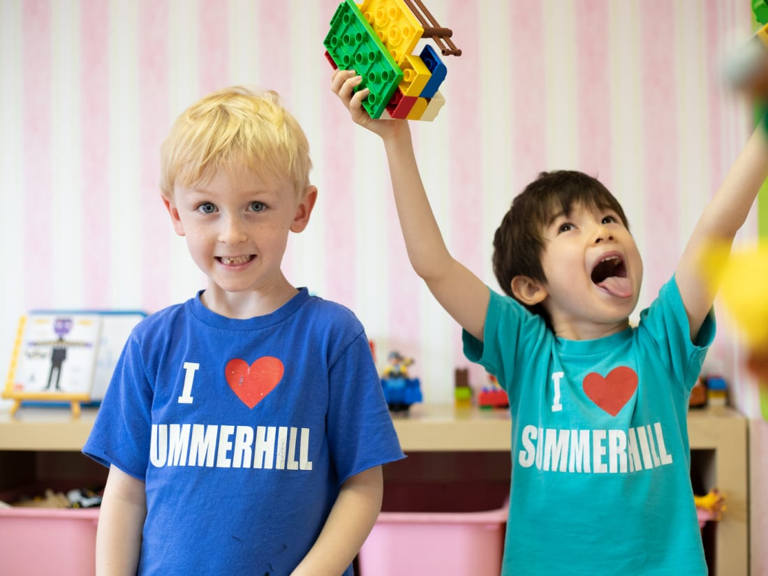 Students play at Summerhill International School